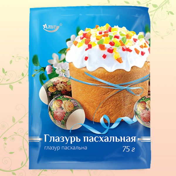Пасхальная Глазурь 75Г/100Шт